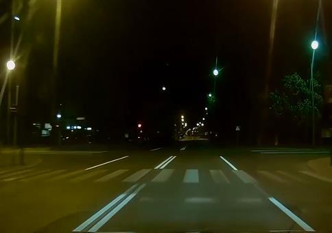 Geiler Drift an der Kreuzung
