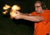 Schießtraining mit Handfeuerwaffen