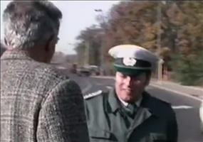 Kleiner Ausraster bei einer Verkehrskontrolle in der DDR