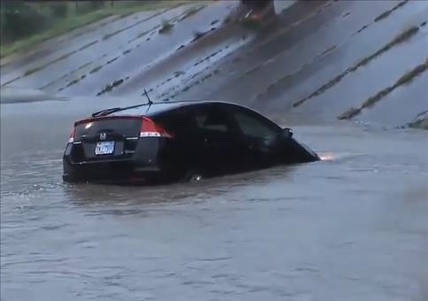 Rettung aus dem Hochwasser live im TV
