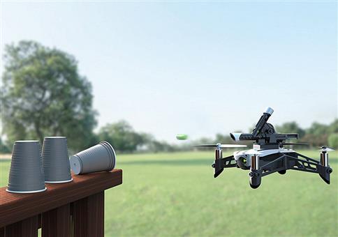 Parrot Minidrone mit Kanone