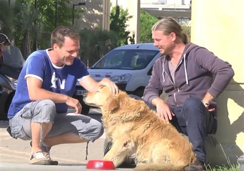 Rémi Gaillard verteilt Geld an fremde Menschen