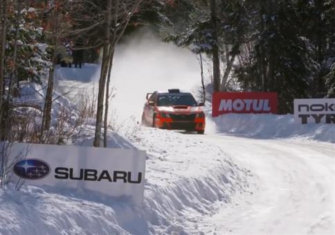 Rallye im Schnee - Einfach weiter fahren