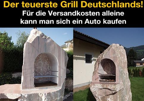 Marmor Griller - Der teuerste Grill Deutschlands