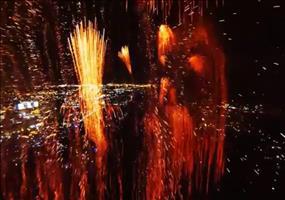 Inside the Explosion - Mit dem Quadrocopter mitten im Feuerwerk