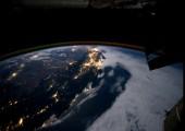 Erdumrundung aus der Sicht der internationalen Raumstation