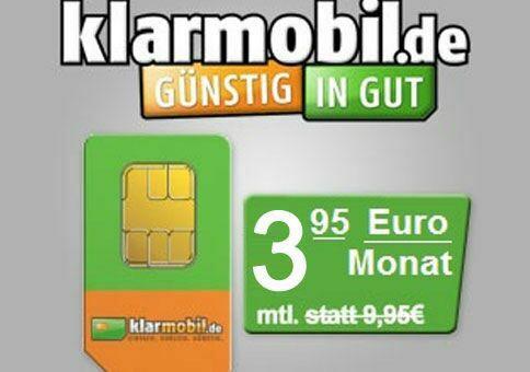 Kracher-Tarif für 3,95€!