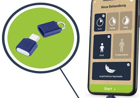 Mückenstichbehandlung mit dem Smartphone