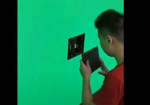 LED Screen Panel austauschen