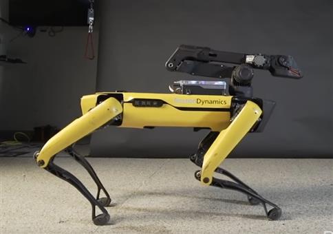 Der tanzende Roboter von Boston Dynamics