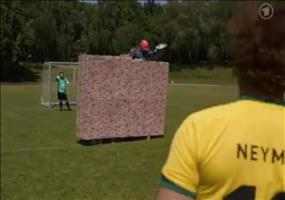 Fußballbegriffe wörtlich genommen