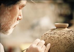 Koreanische Keramik-Kunst