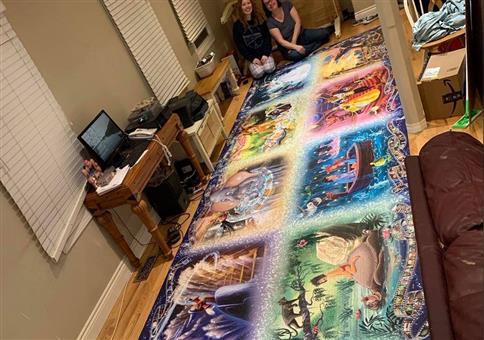 Für Puzzlefans DIE absolute Herausforderung!