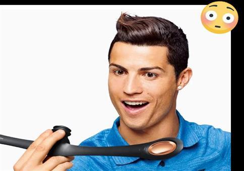 Was sich Ronaldo so alles in den Mund steckt