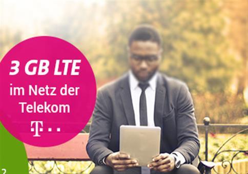 Kracher: 3GB Telekom LTE für 2€!