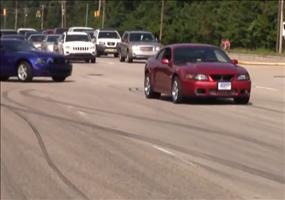 Ford Mustang Fahrer haben keinen Skill