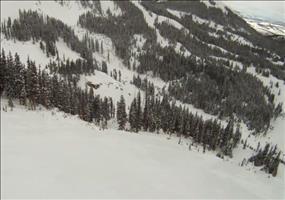Folge nie fremden Skispuren - Kann gefährlich sein