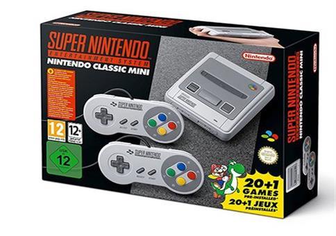 Super Nintendo Classic Mini zum Spitzenpreis