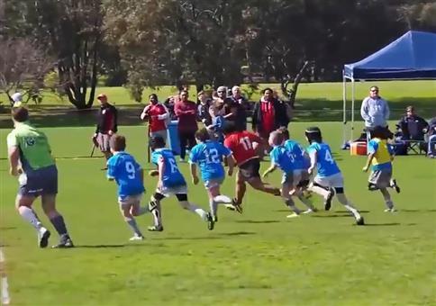 8 Jähriger beim Rugby
