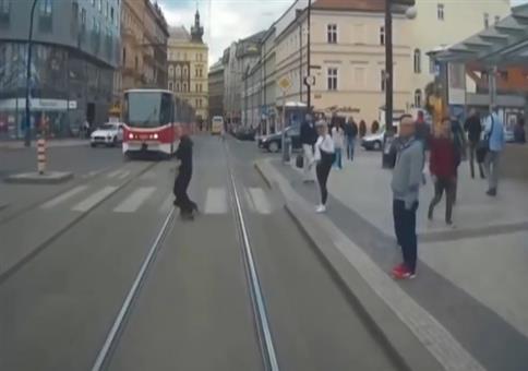Aus dem Leben eines Prager Tramfahrers