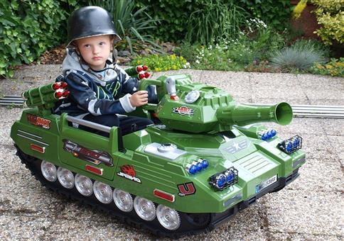 Ein Panzer für die Kleinsten