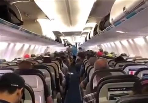Geregelter Ausstieg im Touristenflieger