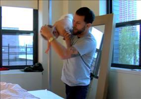 Wie man am besten gegen ein Baby kämpft