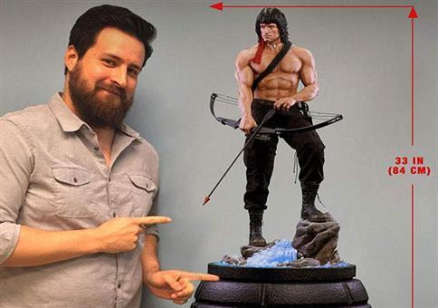Richtig coole Rambo Figur