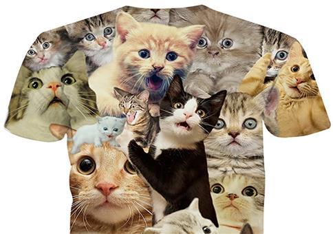 Ein Shirt für Katzenfreunde
