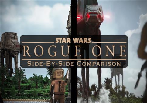 Star Wars Rogue One Trailer - Lego Version