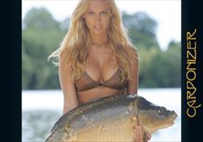 Sexy Frauen und riesen Fische