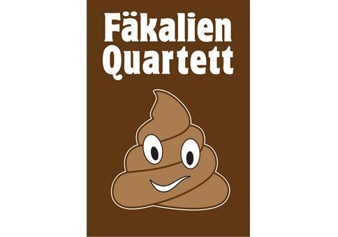 Fäkalien Quartett - Das extrem scheiße Kartenspiel