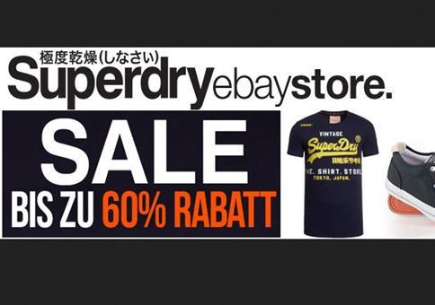 Superdry Sale mit bis zu -60% Rabatt + 20% Extra Rabatt
