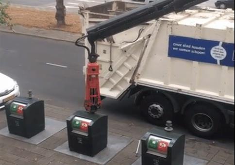 Kleine Mülltonnen ganz groß