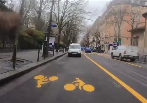 Radweg aus der Hölle