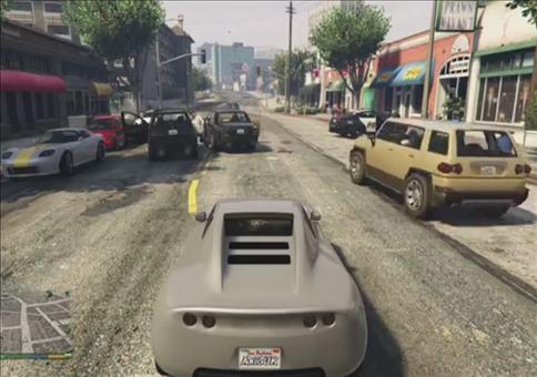 Polizei Brutalität in GTA V