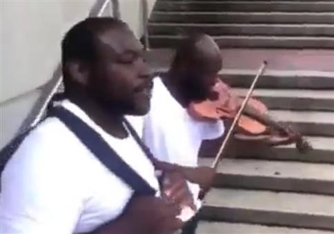 Rap und Violine