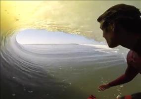 Die perfekte Welle beim Surfen
