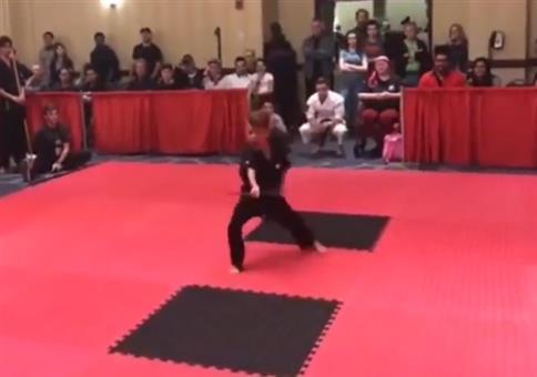 Kampfsport Kiddie geht voll ab