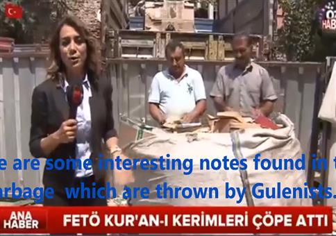Nach dem Putsch in der Türkei: Reporterin findet Geheimnotizen