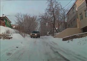 Russian Winter Drifting
