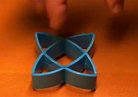 Perfekte optische Täuschung