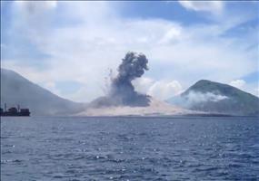 Vulkanausbruch in Papua-Neuguinea