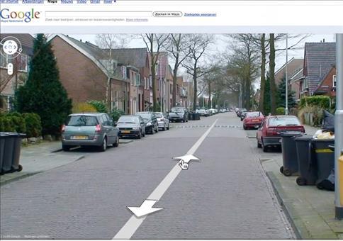 Krasser Fehler bei Google Street View