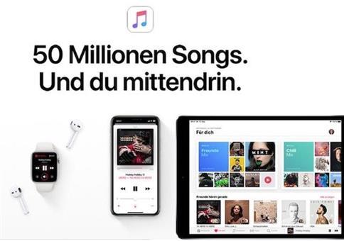 4 Monat Apple Music gratis für echte Neukunden