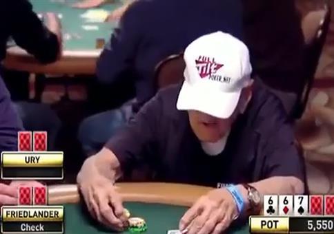 96-jähriger Pokerspieler erteilt eine Lektion