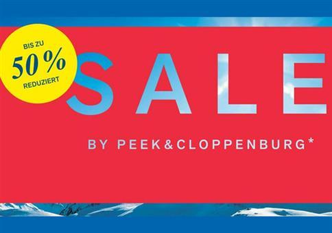 Peek & Cloppenburg* Sale bis 50% Rabatt