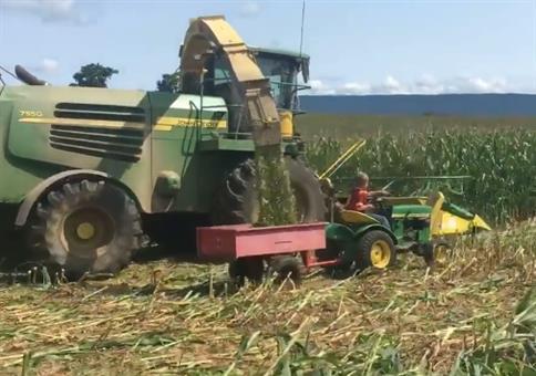 Wer mal ein großer Landwirt werden will...