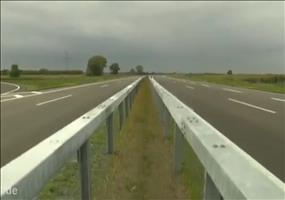 Einbahnstraße Autobahn