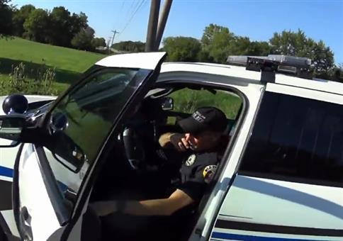 Von der Polizei aufgegabelt